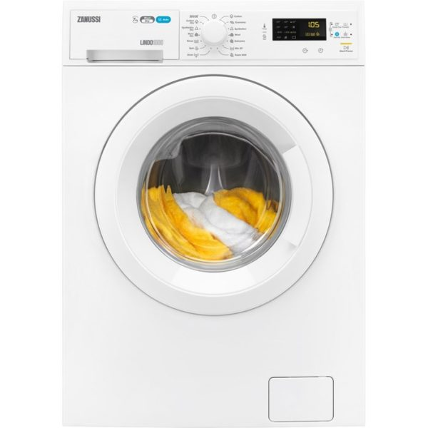 Zanussi ZWD71460W 1400 Spin 7kg Wash 4kg Dry Washer Dryer - White