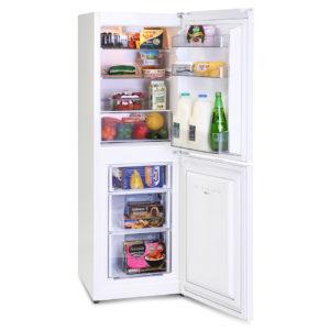 Montpellier MS148W/S Static 50/50 Combi Fridge Freezer