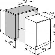 Baumatic Iberna Fully Integrated Dishwasher – BYD1630
