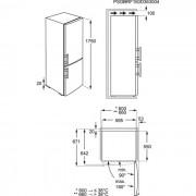 Zanussi Freestanding Frost Free - ZRB32313WA