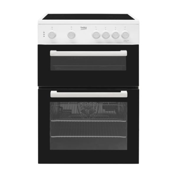 Beko 60cm Electric Cooker – KTC611W The Appliance Centre NI