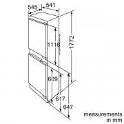 Neff Integrated Fridge Freezer - K8524X8GB