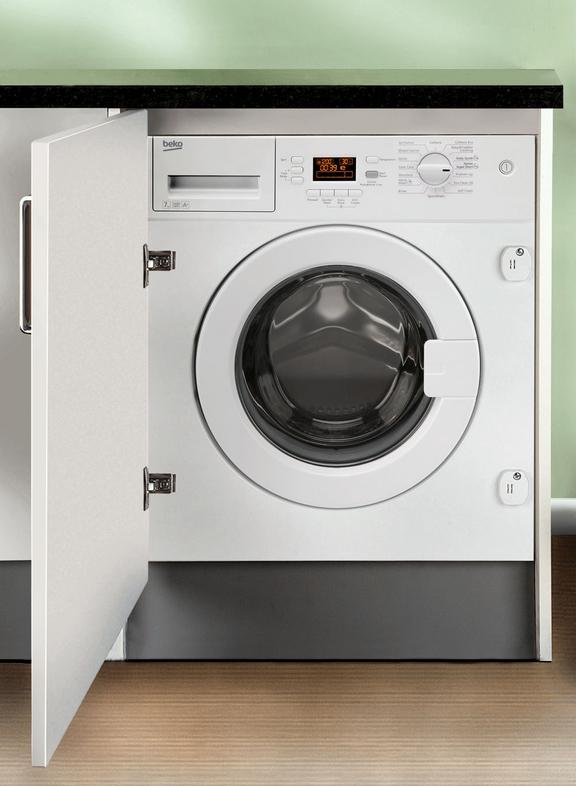 Beko 7kg Integrated Washing Machine - WMI71641