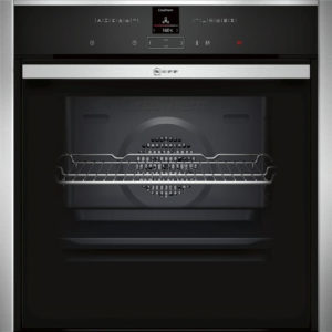 Neff Slide and Hide Single Electric Oven – B47CR32NOB