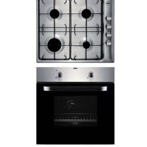 Zanussi Built-in Electric Oven and Gas Hob Pack - ZPGF4030X The Appliance Centre NI