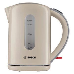 Bosch TWK7607GB Village Kettle, Cream