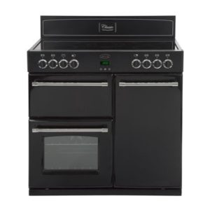 Belling Classic 90E Electric Range Cooker - Black