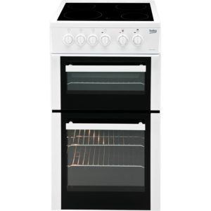 Beko 50cm Electric Cooker - BDVC653AW