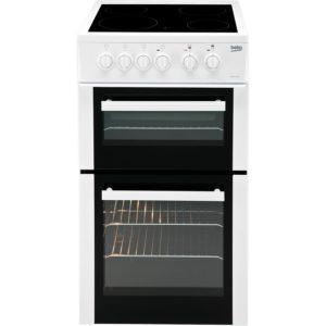 Beko 50cm Electric Cooker - BDVC653AW