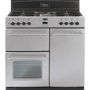 Belling CLASSIC900GT 90cm Gas Range Cooker – Silver