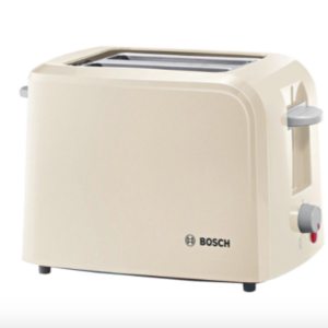 Bosch TAT3A017 Village Collection Toaster, Cream