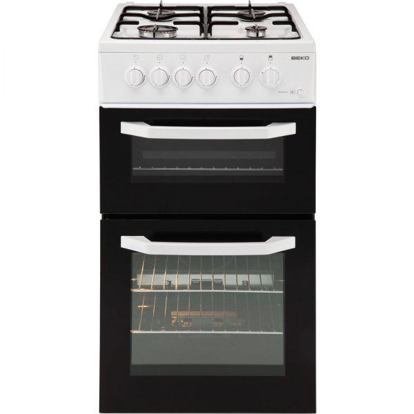 beko freestanding gas cooker bdg581w the appliance centre. Black Bedroom Furniture Sets. Home Design Ideas
