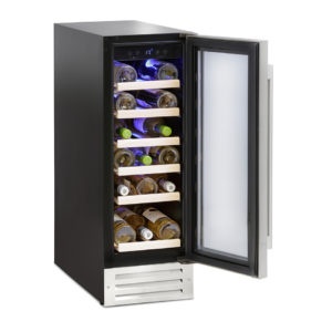 Montpellier 19 Bottle Wine Cooler - WS19SDX The Appliance Centre NI