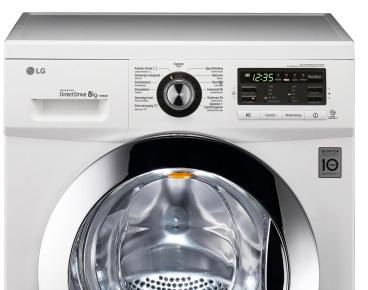 LG 8kg Washing Machine - FH496TDAD