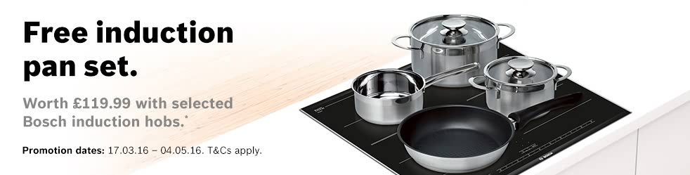 Bosch 60cm Induction Hob - PIA611B68B