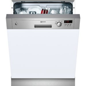 NEFF S41E50N1GB Full-size Semi-integrated Dishwasher - Stainless Steel