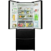 Hoover HMN7182B American Style Frost Free Fridge Freezer