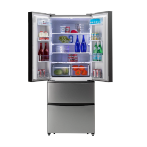 Hoover 70cm 4 Door Fridge Freezer - HMN7182iXUK