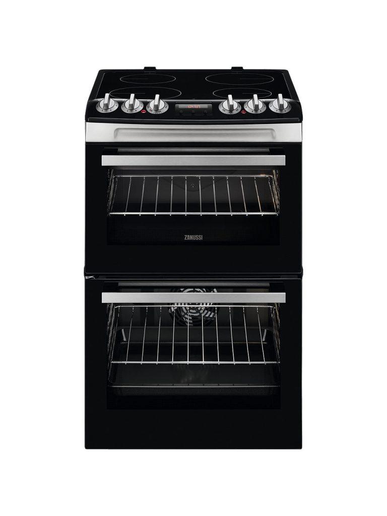 Zanussi 55cm Electric Cooker -ZCV46250XA The Appliance Centre NI