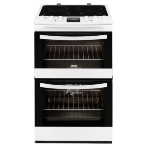 Zanussi 55cm Electric Cooker -ZCV48300WA The Appliance Centre NI