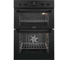 Zanussi Electric Built in Double Oven - ZOD35802BK The Appliance Centre NI