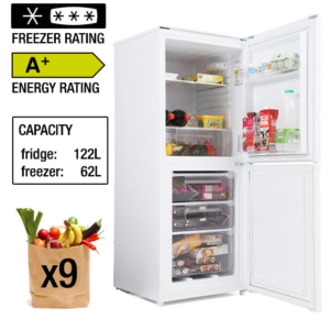 Candy Static Fridge Freezer - CSC135WEK The Appliance Centre NI