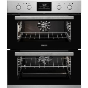 Zanussi Built-Under Double Oven Stainless Steel - ZOF35802XK The Appliance Centre NI