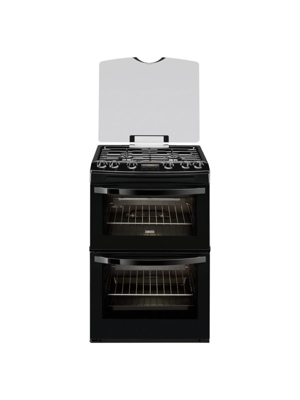 Zanussi Freestanding Gas Cooker - ZCG63200BA The Appliance Centre NI