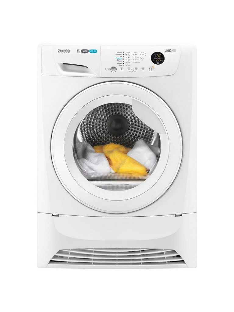 Zanussi 8kg Condensor Tumble Dryer - ZDC8203W The Appliance Centre NI