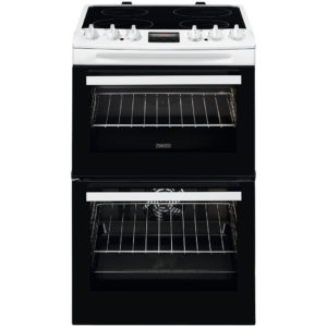 Zanussi 55cm Electric Cooker -ZCV46250WA The Appliance Centre NI