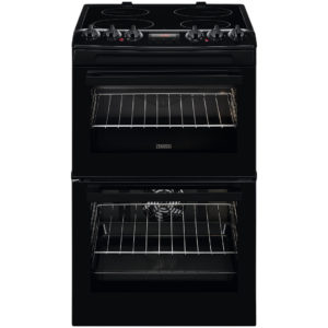 Zanussi 55cm Electric Cooker -ZCV46250BA The Appliance Centre NI