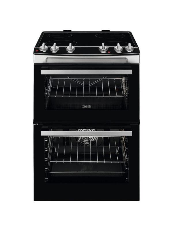Zanussi 60cm Electric Cooker - ZCV66050WA The Appliance Centre NI