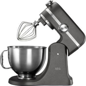 AEG Ultramix Stand Mixer Metallic Grey - KM5540-U The Appliance Centre NI