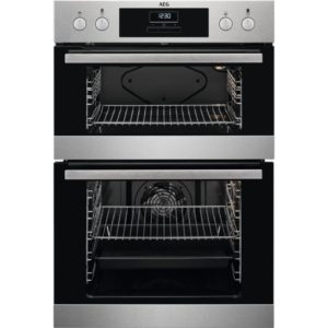 AEG Electric Built In Double Oven - DEB331010M The Appliance Centre NI