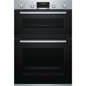BOSCH Electric Double Oven Stainless Steel - MBA5350S0B The Appliance Centre NI