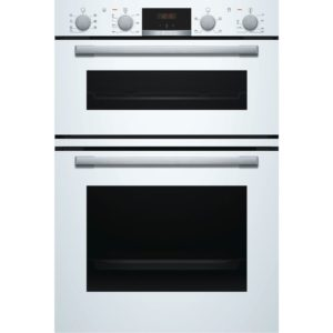 BOSCH Electric Double Oven White - MBS533BW0B The Appliance Centre NI