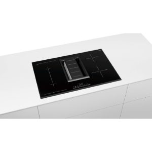 Bosch Serie 6 PVS851F21E 80cm Venting Induction Hob - Black The Appliance Centre NI