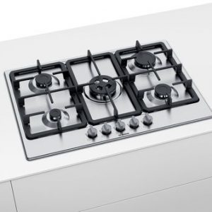 Bosch Serie 4 PGQ7B5B90 75cm Gas Hob - Stainless Steel The Appliance Centre NI
