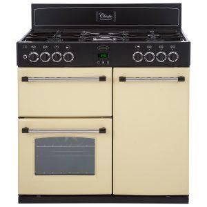 Belling CLASSIC 90DFT 90cm Dual Fuel Range Cooker – Cream The Appliance Centre NI