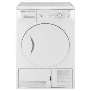 Beko 8kg Condenser Tumbe Dryer - DCU8230W The Appliance Centre NI