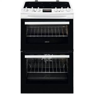 Zanussi 55cm Electric Cooker -ZCV46250WA The Appliance Centre NI