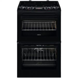 Zanussi 55cm Electric Cooker -ZCV46250BA The Appliance Centre NI