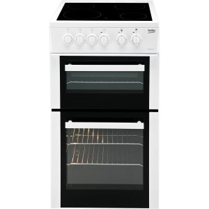Beko 50cm Electric Cooker - BDVC653AW The Appliance Centre NI