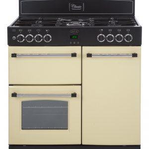 Belling CLASSIC900GT 90cm Gas Range Cooker – Cream The Appliance Centre NI