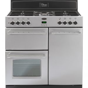 Belling CLASSIC900GT 90cm Gas Range Cooker – Silver The Appliance Centre NI