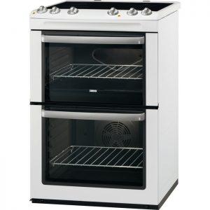 Zanussi 60cm Electric Cooker - ZCV668MW The Appliance Centre NI