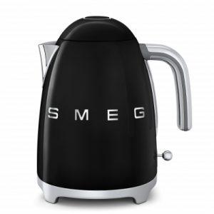 SMEG Belfast KLF01BLUK Jug Kettle - Black The Appliance Centre NI