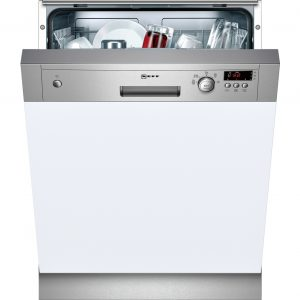 NEFF S41E50N1GB Full-size Semi-integrated Dishwasher - Stainless Steel The Appliance Centre NI