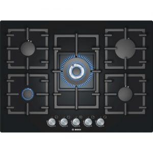 Bosch 70cm Glass Gas Hob - PPQ716B91E The Appliance Centre NI