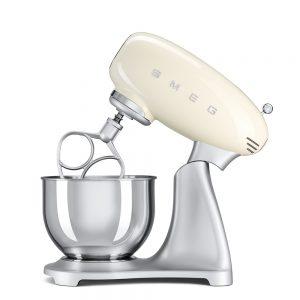 SMEG SMF01CRUK 50's Retro Stand Mixer - Cream The Appliance Centre NI